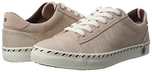 Basses Sneaker Tommy dusty E1285liza Femme Hilfiger 502 7c1 Rose IwWfUq