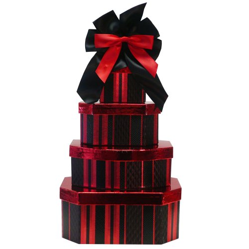 Art of Appreciation Gift Baskets Deluxe Indulgence All Chocolate Gift Tower