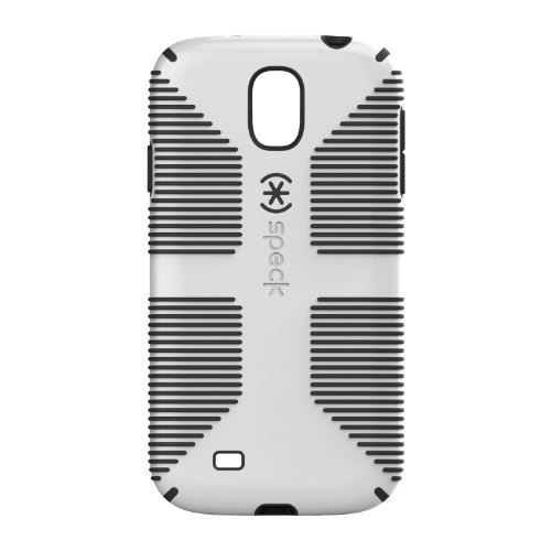 Speck Products CandyShell Grip Samsung Galaxy S4 Case  - White/Black (Speck Candyshell S4 Case)