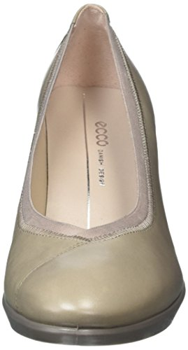 Rock Shape ECCO Heels Women's Grey Stack Moon Toe Plateau 1459 Closed 55 q5vA5
