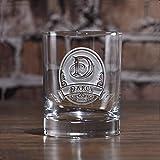 Birthday Gift Engraved Whiskey Glasses (set of 4)