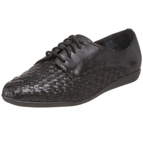 Bass Womens Eddie Oxford Black