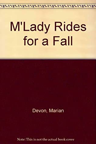 book cover of M\'Lady Rides for a Fall