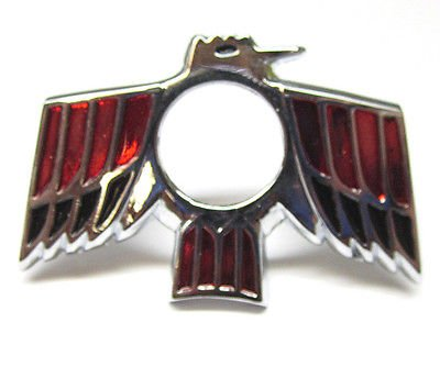 The Parts Place Pontiac Firebird Trunk Lock Bezel Emblem (Lock Firebird Trunk)