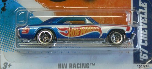 2011 HW Racing 67 Chevelle SS 396 #1/10 (Ford Shelby Gt500 Super Snake For Sale)