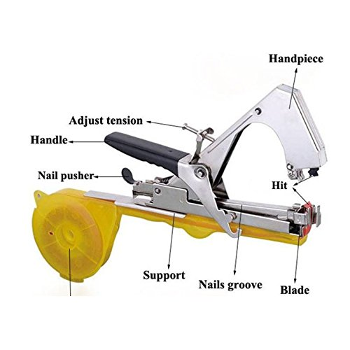 Plant Hand Tying Binding Binding Machine Garden Flower Fruit Vegetable Tapetool