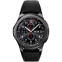 Samsung Gear S3 frontier Smartwatch (Large Band) (Black) - Manufacturer Refurbished