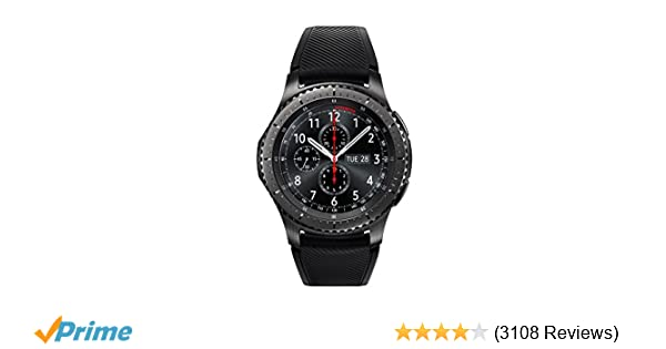 Amazon.com: Samsung Gear S3 Frontier Smartwatch (Bluetooth), SM-R760NDAAXAR – US Version with Warranty: Cell Phones & Accessories