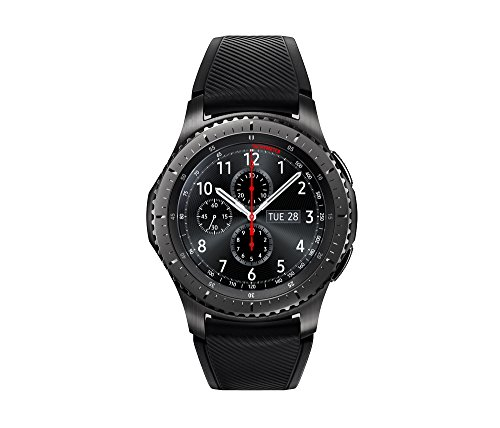 Samsung Gear S3 Frontier Smartwatch (Bluetooth),  SM-R760NDAAXAR - US Version with Warranty (Samsung Cf390 Series Curved 21-5 Inch Fhd Monitor)