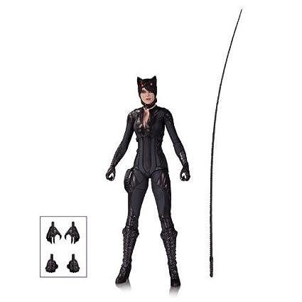 Amazon.com: Batman Arkham Knight Catwoman figura de acción ...