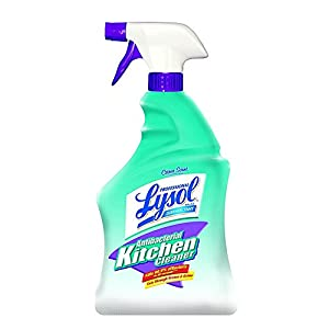 Professional Lysol Antibacterial Kitchen Cleaner Spray, 32oz 41ehPIA KiL