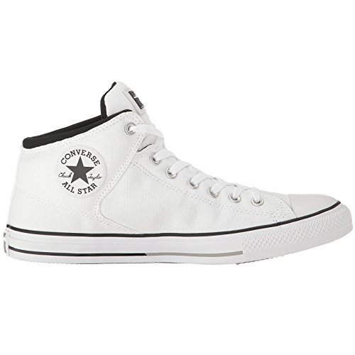Converse Womens Chuck Taylor All Stars High Street Hi Top White Canvas Trainers 7.5 US