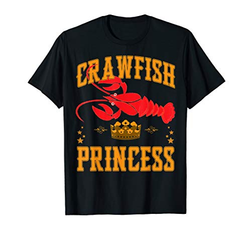 Crawfish Princess Boil Party Festival Shirt for Girls