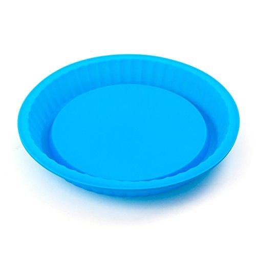 Lantelme 5750 Tortenbodenform Silikon Farbe blau Durchmesser 24 cm