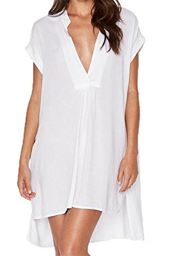 Dokotoo Womens Chiffon Swimsuit Swimwear product image