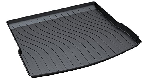 Vesul Rubber Rear Trunk Cargo Liner Trunk Tray Floor Mat Cover for Porsche Macan 2015 2016 2017 2018