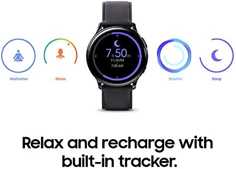 Samsung Galaxy Watch Active 2 (40mm, GPS, Bluetooth) Smart Watch with Advanced Health Monitoring, Fitness Tracking, and Long lasting Battery, Pink Gold (US Version) 7