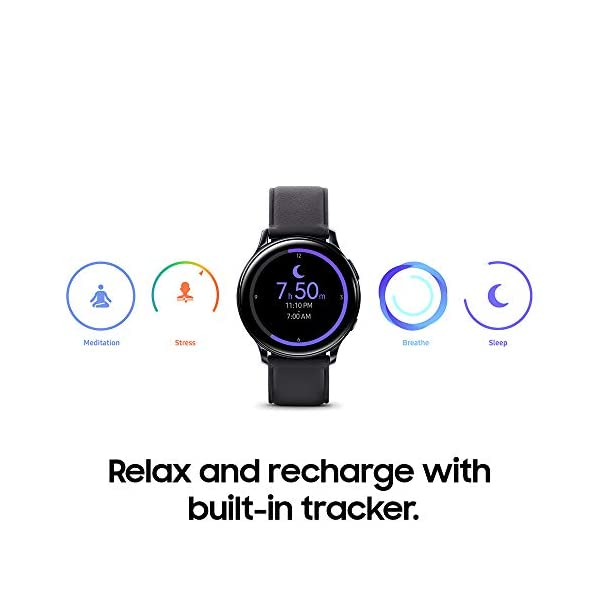 Samsung Galaxy Watch Active 2 (40mm, GPS, Bluetooth) Smart Watch with Advanced Health monitoring, Fitness Tracking , and… 7