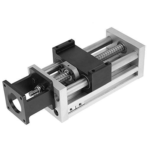 100mm Linear Stage,Manual Linear Table,Smooth Surface, High Versatility,0.6Inch Shaft Diameter