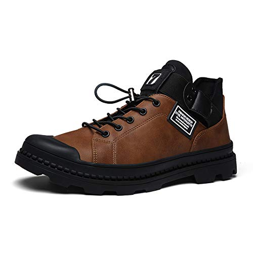 LOVDRAM Stiefel Männer Martin Stiefel Herrenmode Herrenschuhe Wilde Herren Herren Wilde Baumwolle Schuhe Winter Wärme Verdickung Mode Hohe Schuhe ba9e39