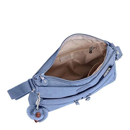Cross Handbag One Angie Dream Body Size Women's Blue Kipling EzIwB
