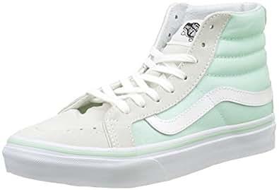 Vans Womens SK8-Hi Slim Bay/True White Sneaker - 4