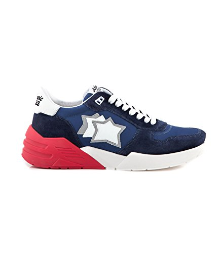Blu Mars Atlantic Stars Suede Drill Sneakers In cy8qBqvCw