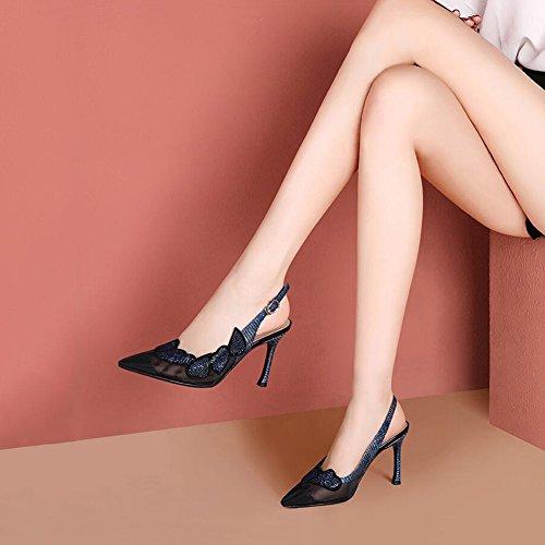 taille CN 35 Chaussures Ly Haut 5cm 7 Escarpins Sandales Femmes UK 35 Et Printemps Mince Été Pour Talons EU À 5 Hauts L'usure Résistant 3 Talons DALL 709 FRBnq