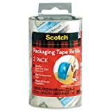 Scotch Refill Rolls for DP-1000 Easy Grip Tape Dispenser TAPE,PKG,REFIL,6/PK,CR (Pack of5)