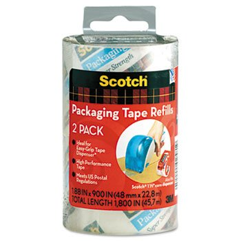 Scotch® Refill Rolls for DP-1000 Easy Grip Tape Dispenser...