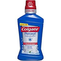 Colgate Peroxyl Mouth Sore Rinse Mild Mint - 16.9 Fl Oz (Pack of 2)