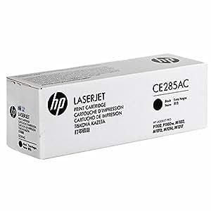 HP CE285AC tóner y cartucho láser - Tóner para impresoras láser (2100 páginas, Laser, HP)