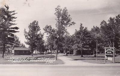 F8553 MI, Houghton Lake Whispering Pines Cot. Postcard (Cot Pine)