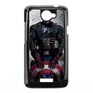 Generic Captain America Hard Plastic Snap-On Custom Covers for HTC One X