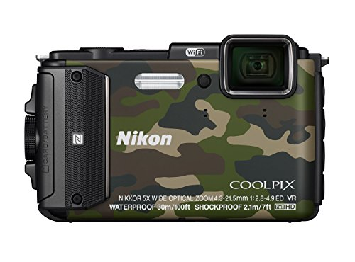 Nikon Coolpix Waterproof Digital Camouflage