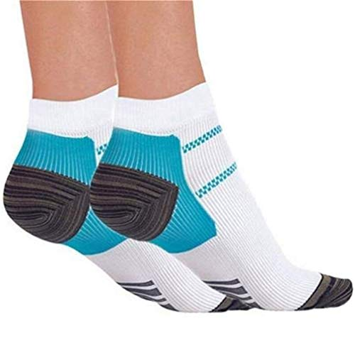 LOVEACH Compression Foot Sleeves for Men & Women - Best Plantar Fasciitis Socks for Plantar Fasciitis Pain Relief, Heel Pain, and Treatment for Everyday Use with Arch Support