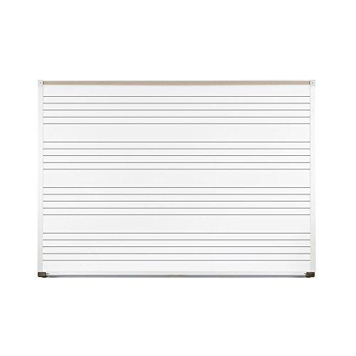Porcelain Steel Music Line Board (8 ft. W) by Best-Rite