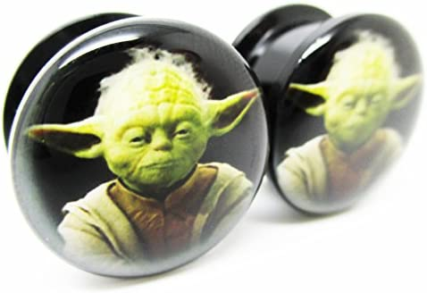 Yoda Face Ear Plugs Screw product image