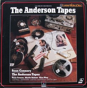 The Anderson Tapes LASERDISC (NOT A DVD!!!) (Full Screen Format) Format: Laser Disc (The Anderson Tapes Dvd)