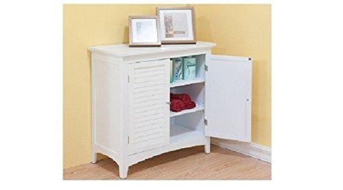 Bayfield White Double-door Floor Cabinet by Bayfield