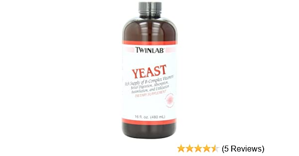 Twinlab Yeast, Enzymatic Digested, 16 Fluid Ounce (Pack of 2)