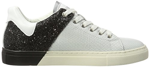 Sneaker Donna Black White REPLAY Nero Lolard 62 EqwX6B5