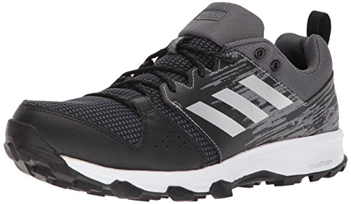adidas Performance Men's Galaxy m Trail Running Shoe, Core Black/Matte Silver/Carbon, 10 M US