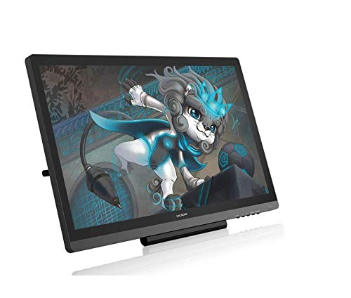 NEW HUION Kamvas 20 2019 Graphic Tablet with Screen, Upgrade Version of Huion Kamvas GT-191 V2 Graphic Drawing Monitor, 120% sRGB, ±60° Tilt, New Battery-free Stylus PW507 (Huion Kamvas GT-191 V3)