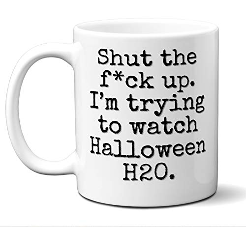 Halloween H20 Gift Mug. Funny Parody Movie Lover