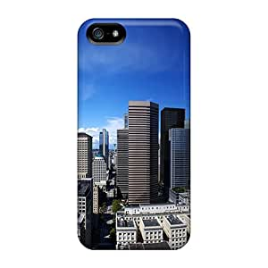 Fashionable Style Case Cover Skin For Iphone 5/5s- Seattle City United States