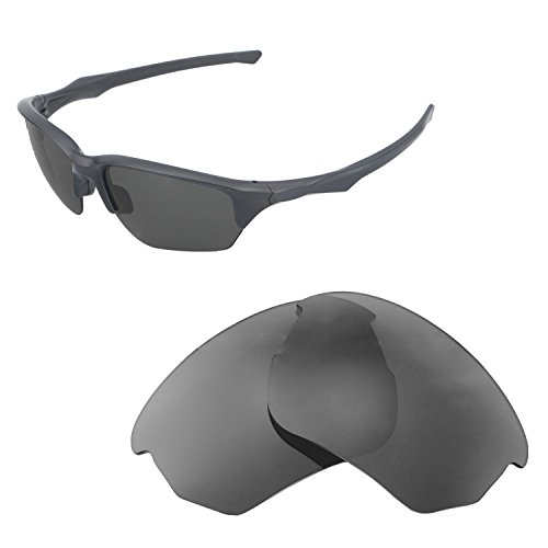 Walleva Replacement Lenses For Oakley Flak Beta Sunglasses - Multiple Options available (Black - - Oakley Flak Beta