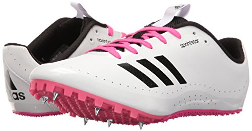 5 M Scarpe shock bianco Sprintstar Corsa black Us Performance W Adidas White Da Bianco Pink verde Azvqvn