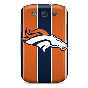 New Tpu Hard Case Premium Galaxy S3 Skin Case Cover(denver Broncos) by mcsharks