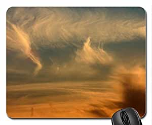 Windswept Clouds Mouse Pad, Mousepad (Sky Mouse Pad)